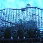 Predator Roller Coaster at Darien Lake