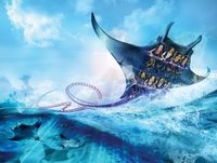 Manta Flying Roller Coaster - SeaWorld Orlando