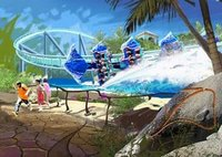 Manta Coaster Concept Art - SeaWorld Orlando