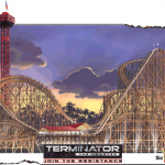 Terminator: The Coaster - Six Flags Magic Mountain