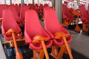 Diamondback's Trains Have Stadium-Style Seating