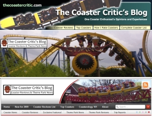Coaster Critic's Blog Headers