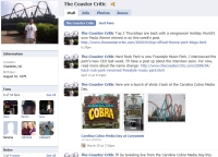 Coaster Critic on Facebook