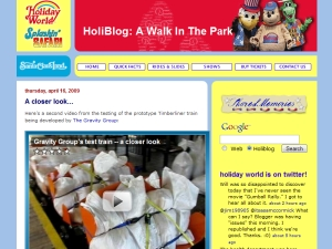 Holiday World's Holiblog