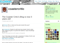 Coaster Critic on Twitter