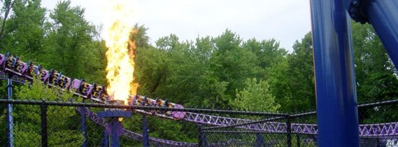 Superman Ride of Steel Goes Bizarro at Six Flags New England