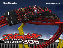 Intimidator 305 - Kings Dominion's New Giga Coaster