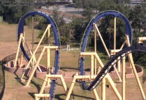 Montu at Busch Gardens Tampa - Batwing Inversion