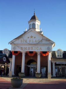 Six Flags America Entrance