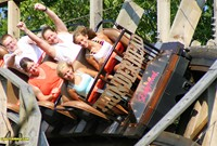 Thunderhead at Dollywood is a Golden Ticket Award Winner.