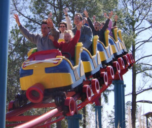 Ant Farm Express at Wild Adventures - Family Roller Coaster