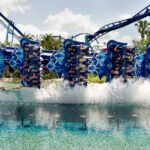 Manta's Signature Dive to the Water