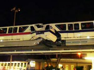 Monorail Crash at Walt Disney World