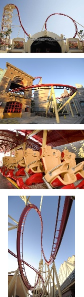 Images of Hollywood Rip Ride Rockit at Universal Studios Orlando