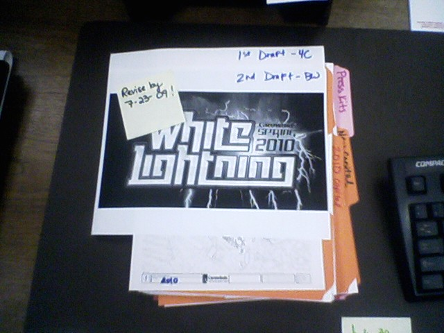 White Lightning Name of the Carowinds 2010 Coaster?