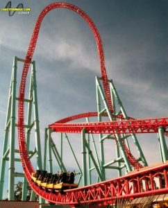 Xcelerator Accident at Knotts Berry Farm
