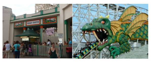 Dragon Coaster at Playland Park