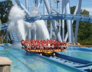 Griffon's Splash Finale - Busch Gardens Williamsburg