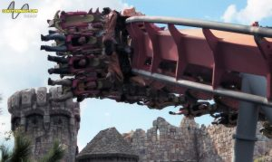 Dueling Dragons - Fire Dragon at Islands of Adventure