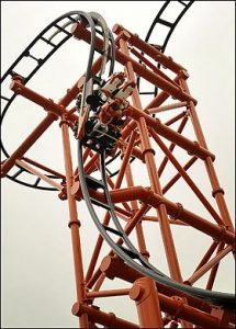 World's Steepest Coaster - Mumbo Jumbo at Flamingoland (UK)