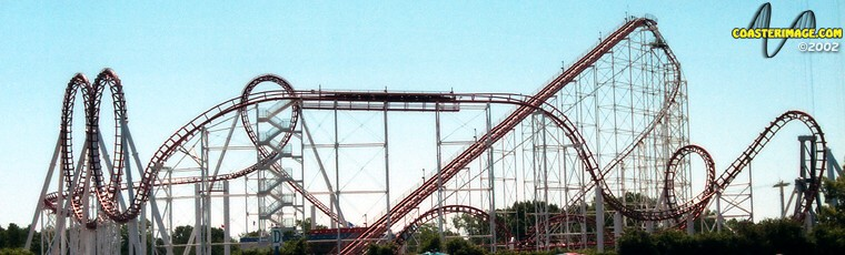 Great American Scream Machine at Six Flags Great Adventure