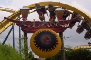 Chang formerly at Six Flags Kentucky Kingdom