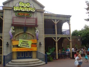 Boo Blasters on Boo Hill at Carowinds
