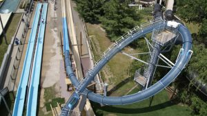 Scorpion's Tail at Noah's Ark Water Park