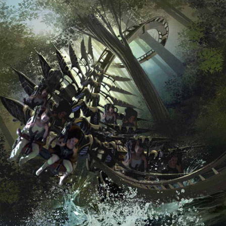 X-Raptor at Gardaland - New B&M Coaster Concept