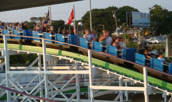 Swamp Fox Roller Coaster at Family Kingdom