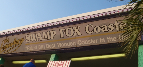 Swamp Fox at Family Kingdom