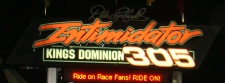 Intimidator 305 Sign