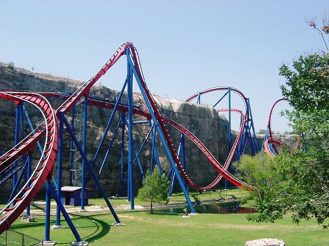 Superman Krypton Coaster - Six Flags Fiesta Texas