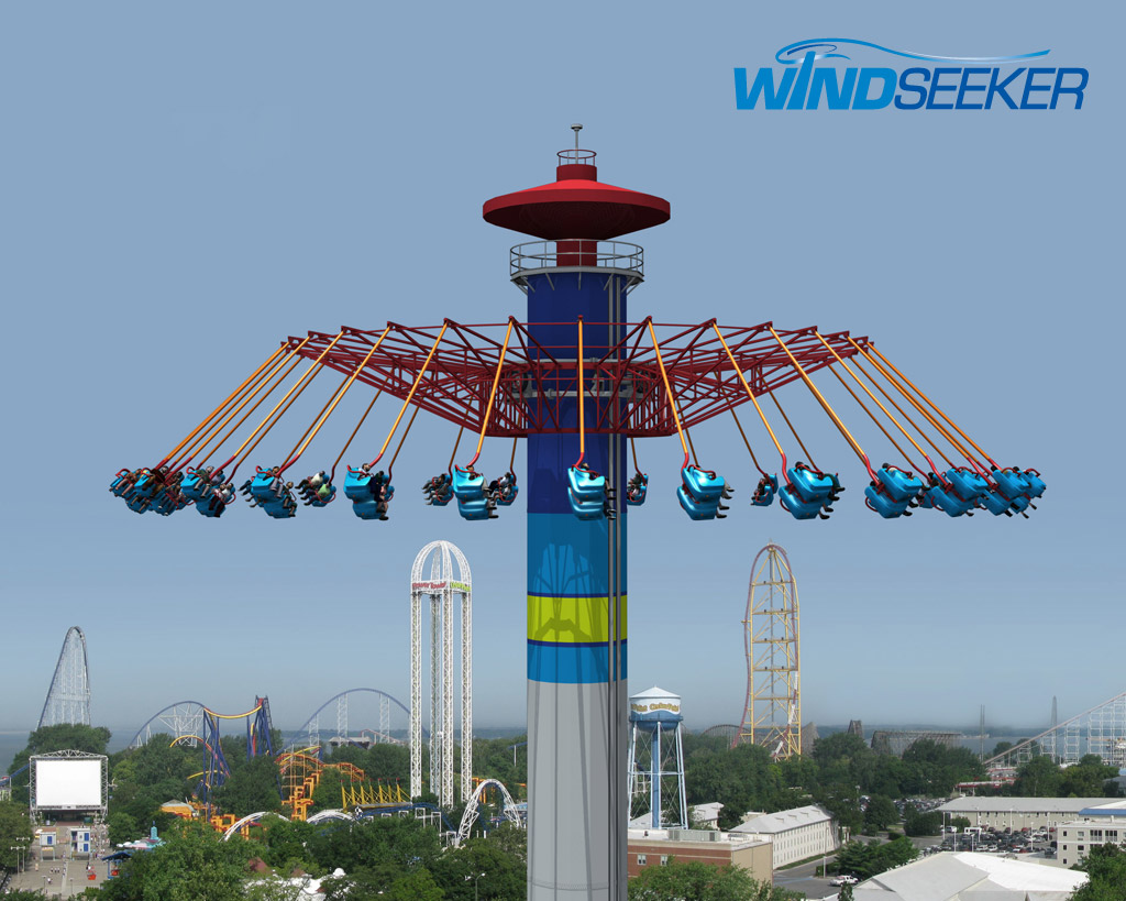 WindSeeker Coming to Cedar Point, Kings Island, Knott's Berry Farm, Canada's Wonderland
