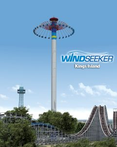 WindSeeker at Kings Island, Cedar Point, Canada's Wonderland, and Knott's  in 2011