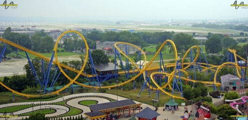 Chang at Six Flag Kentucky Kingdom