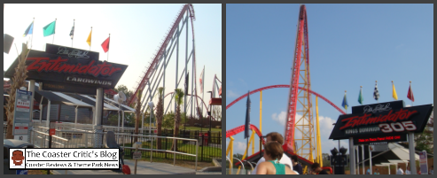 Intimidator @ Carowinds vs Intimidator 305 vs Kings Dominion