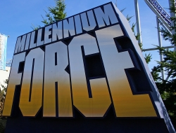 Millennium Force's Sign
