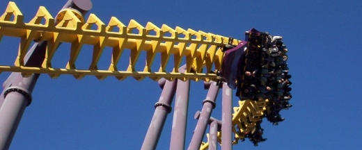 Batwing at Six Flags America