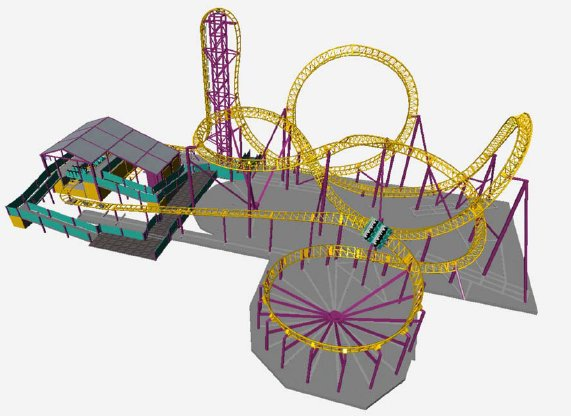 Canobie Lake's Proposed Roller Coaster