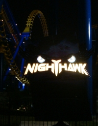 Nighthawk at Night - Carowinds