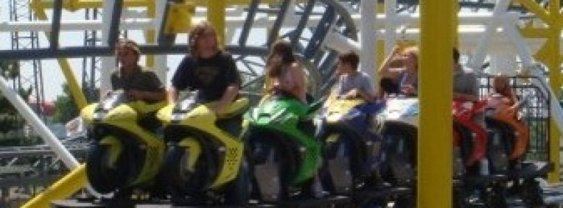 MotoCoaster at Darien Lake