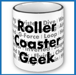 Roller Coaster Geek Coffee Mug