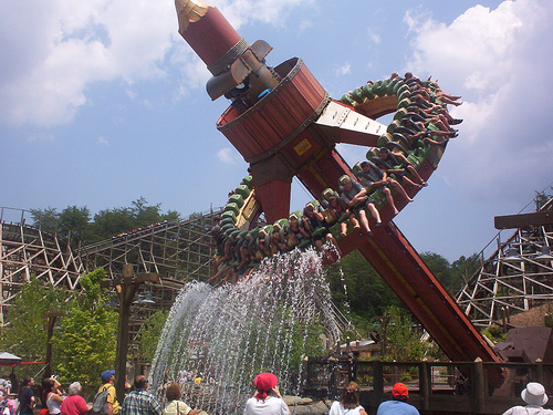 Timber Tower at Dollywood