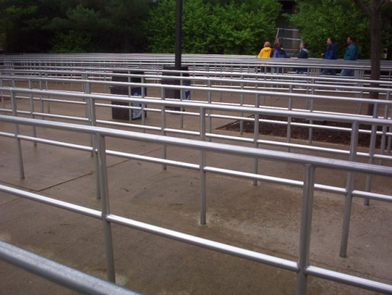 An Empty Queue at Cedar Point