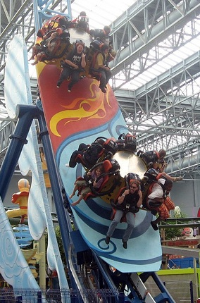 Avatar Airbender at Nickelodeon Universe - Mall of America
