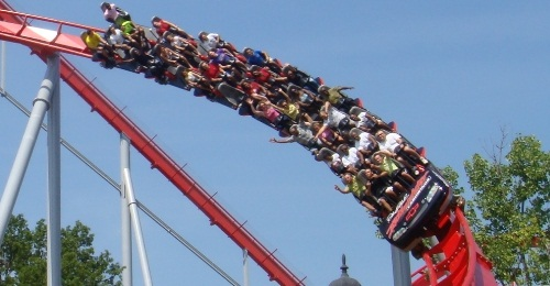 Intimidator at Carowinds
