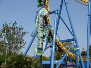 Invertigo Moved from Californias Great America