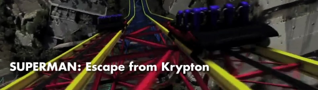 Superman Escape From Krypton - Magic Mountain