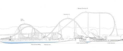 Thorpe Park - Wingrider Coaster 2012